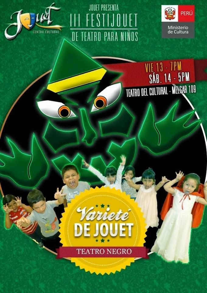 III FestiJouet de teatro para niños - 13 y 14 de junio