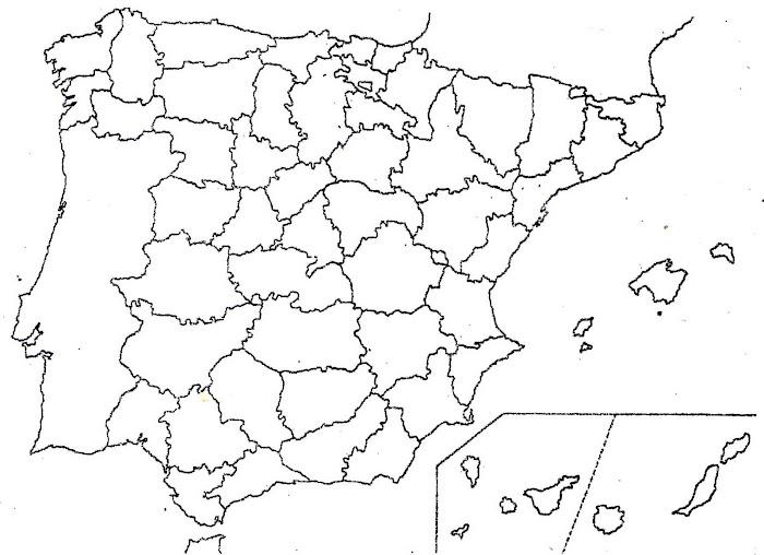 ESPANYA PROVÍNCIES BLANC