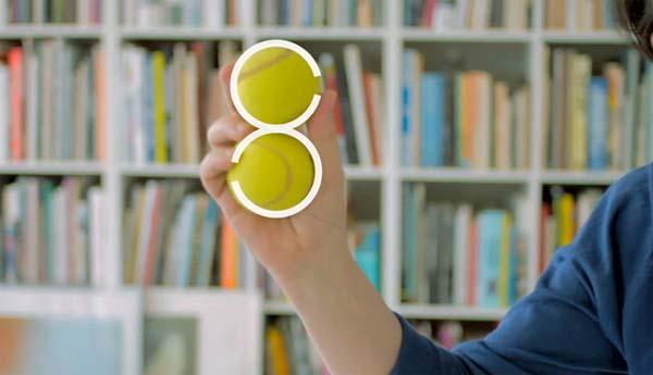 Lacoste logo 80 aniversario Peter Saville pelotas tenis