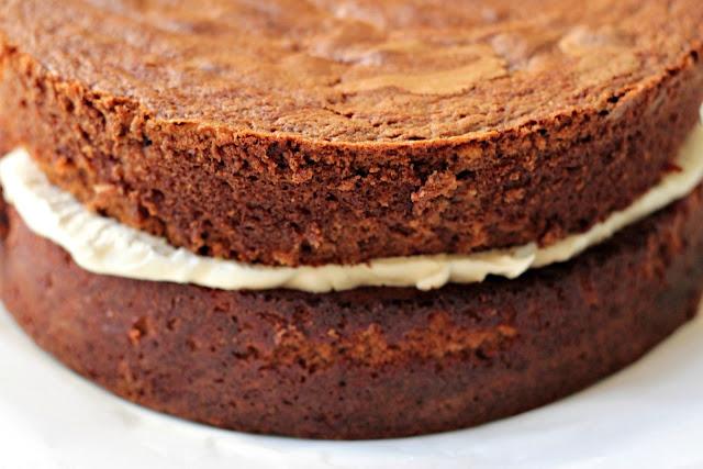 Milk and Honey: Chocolate Layer Cake with Chocolate Cream Cheese ...