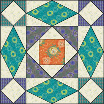 Storm at sea quilt patterns free quilt pattern for Storm at sea quilt template