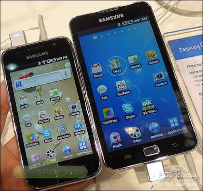 Samsung i9220  5.3 inch Super AMOLED