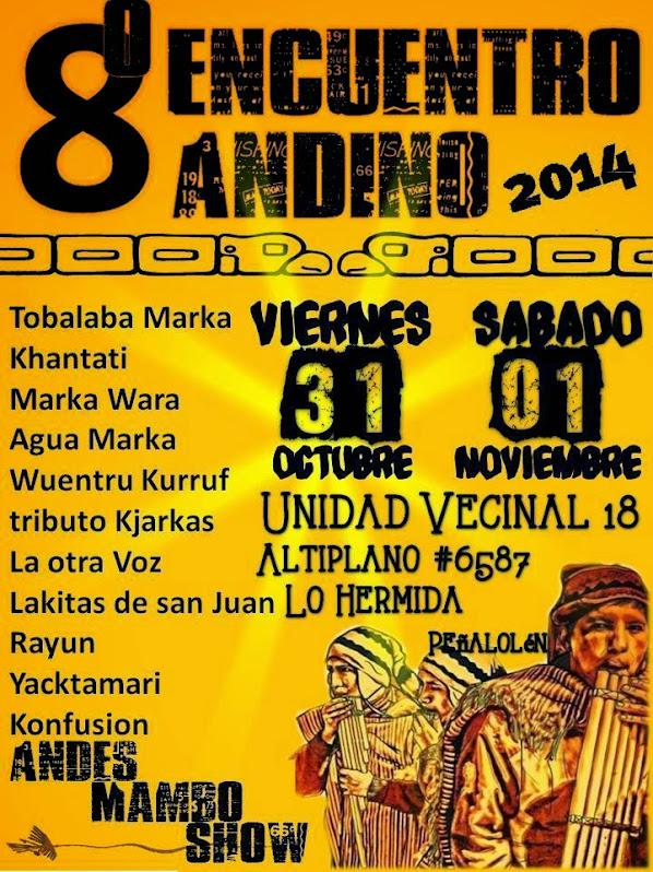 PEÑALOLEN: 8º ENCUENTRO ANDINO 2014