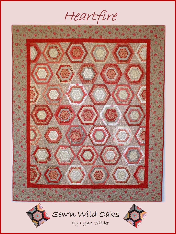 Heartfire pattern - sewn wild oak