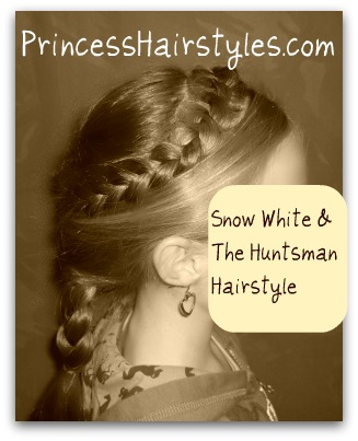 soft wave hairstyles : Snow White And The Huntsman Braided Hairstyle Hairstyles For Girls ...