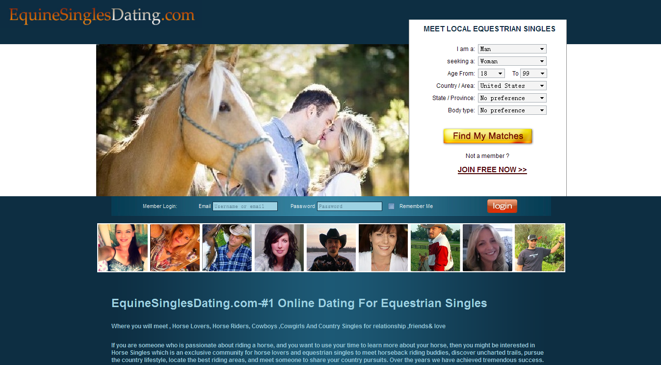 free equine dating sites