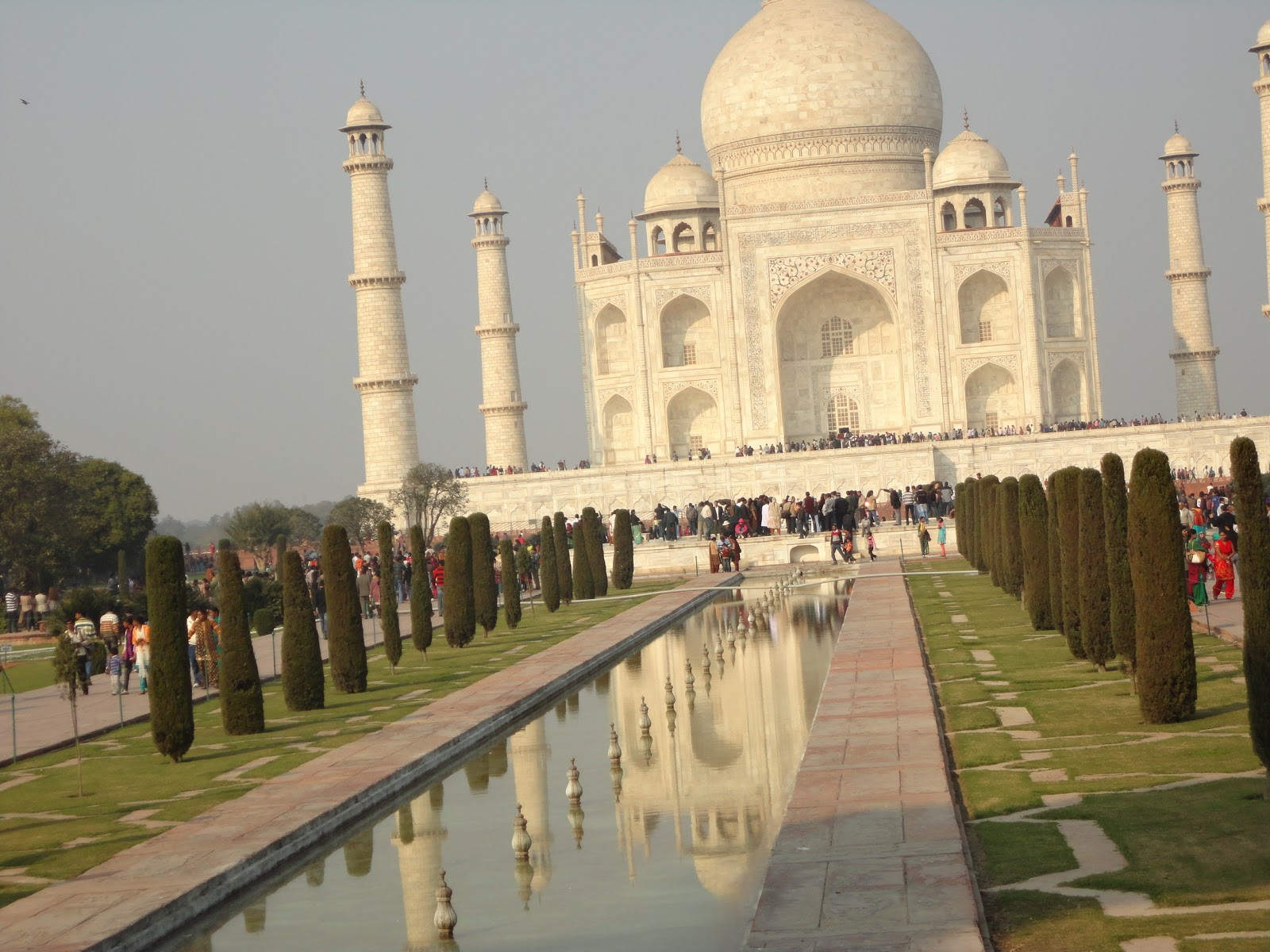 The Fountains of The Taj Mahal
