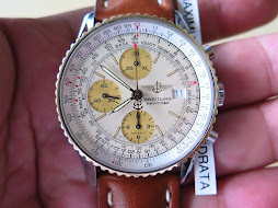 BREITLING NAVITIMER CHRONOGRAPH TWO TONE 18K GOLD STEEL - AUTOMATIC