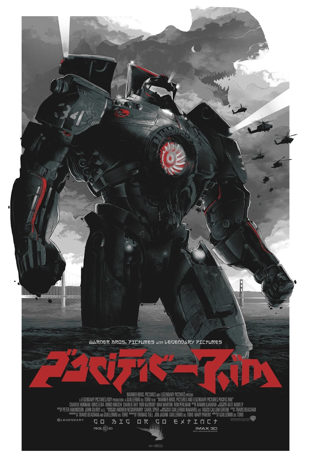 Poster of the Jaegers in Warner Bros. Pictures' Pacific Rim (2013)