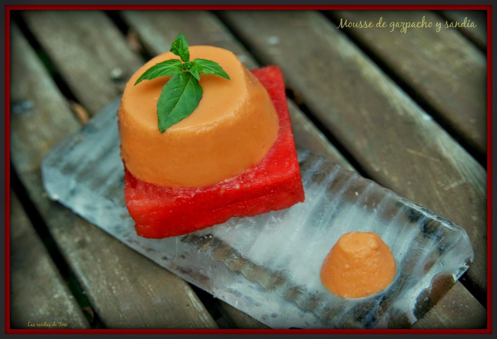 mousse de gazpacho y sandía 05