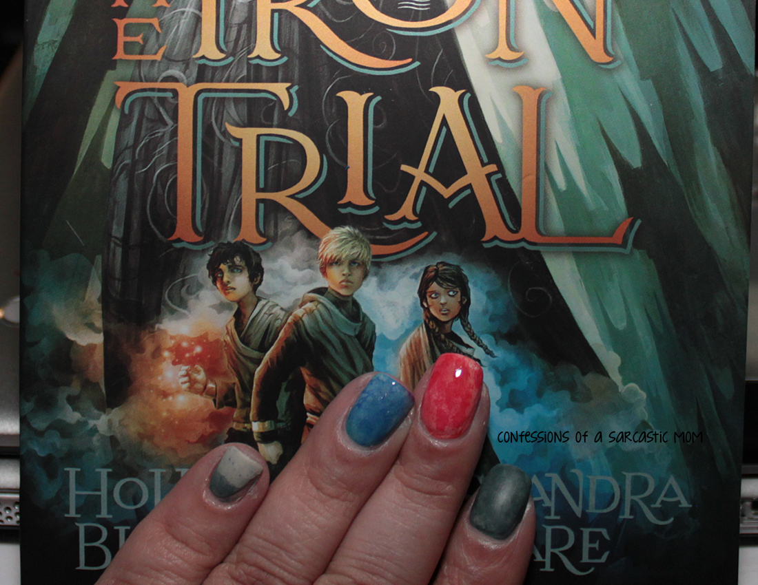 Inspired by a Book mani - The Iron Trial by Holly Black and ...