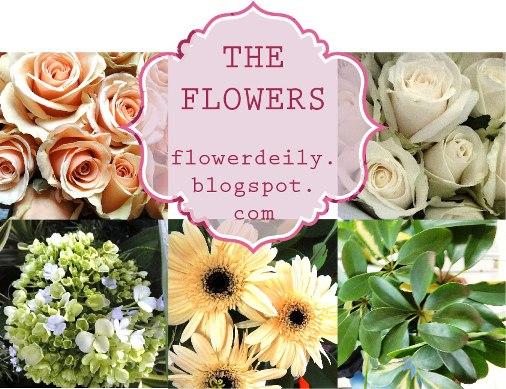 Step By Step Tutorial An Orange Theme Wedding Flower Bouquet