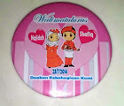 Fridge Magnet Bulat 58mm