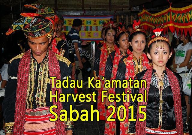 Tadau Kaamatan Harvest Festival 2015