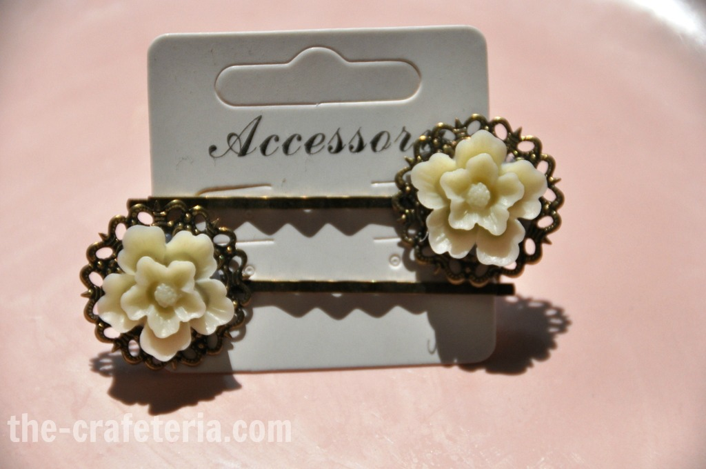 Flower Bobby Pin