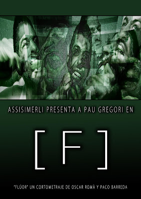 Cartel cortometraje Fluor