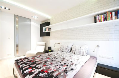 Desain Interior Minimalis Serba Putih 9