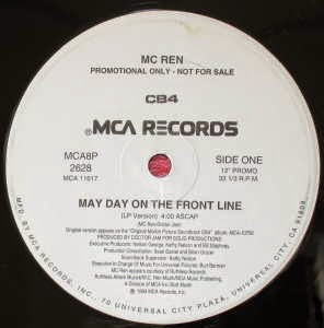 MC Ren - Mayday On The Frontline