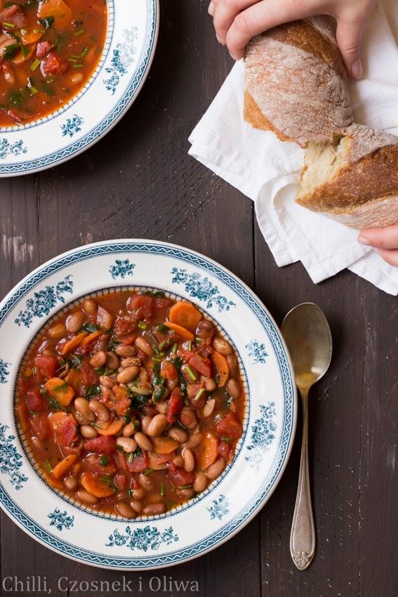 zupa pomidorowa z fasola