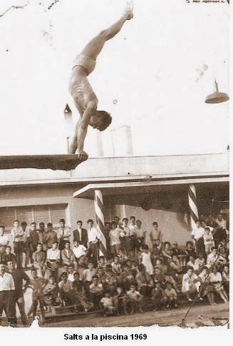 Mem ria dels barris hist ria de la uni atl tica horta i for La piscina 1969