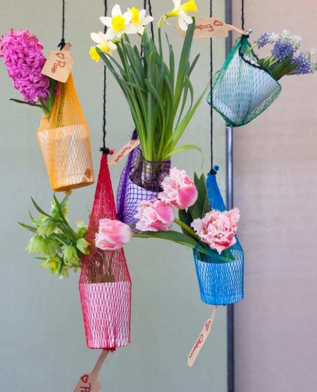 Vasos-suspensos-feitos-com-copo-de-plástico