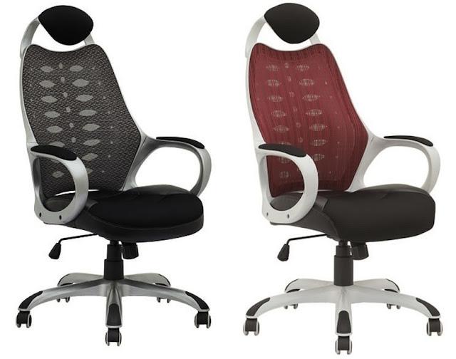 Sill n de oficina con ruedas rally muebles falcam for Sillones para oficina precios