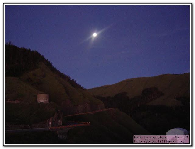合歡山上的月亮