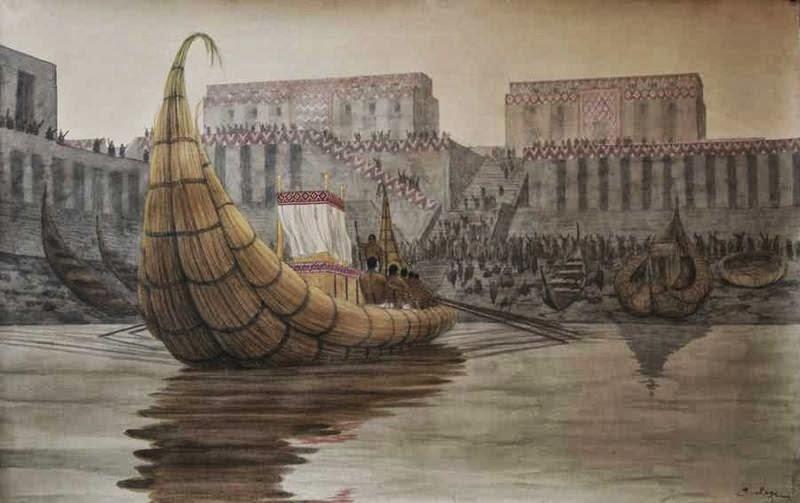 Bangsa Sumeria Kuno dan Bahtera Nabi Nuh AS