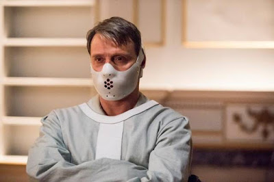 "Mads Mikkelsen as Hannibal Lecter in ""Hannibal."""