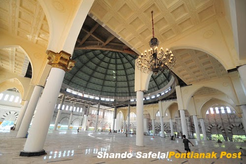Kubah Masjid Mujahiddin Pontianak