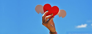 couverture profil facebook coeur