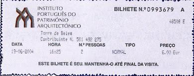 Πορτογαλία : Επίσκεψη στο Πύργο του Μπελέμ