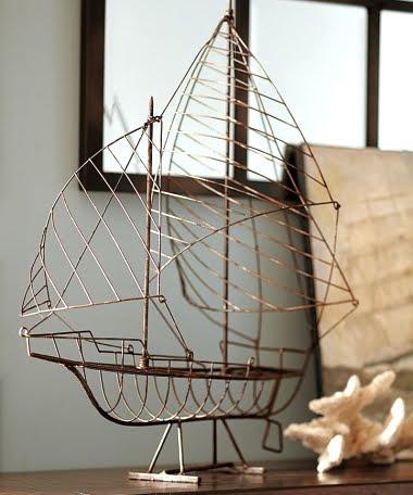 wire sail boat