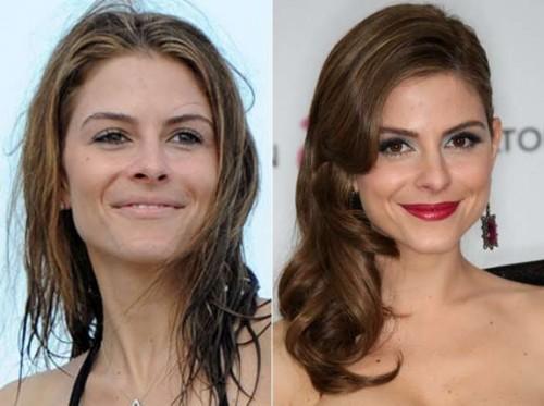 Maria Menounos sans maquillage