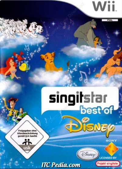 Singstar Best of Disney Wii (PAL)
