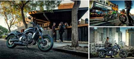 gambar motor Kawasaki ala touring