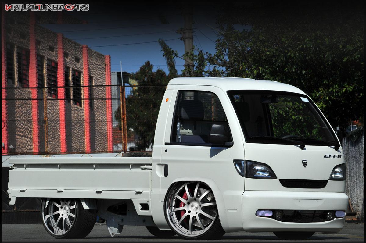 Caminhão Effa rebaixada rodas 22