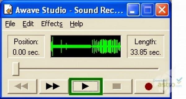 برنامج awave audio لتشغيل ملفات الصوت اخر اصدار