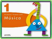 LIBRO DIGITAL DE MÚSICA PRIMER CICLO ANAYA
