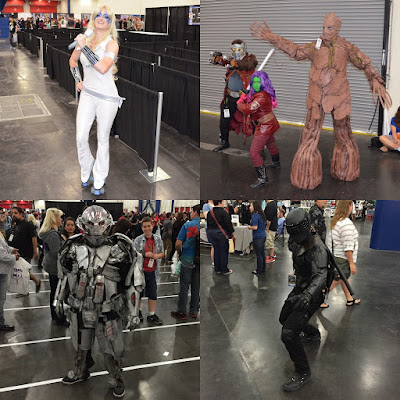 Comicpalooza 2015 Convention Report