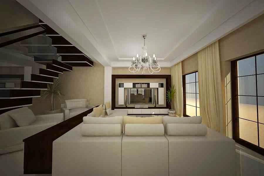 Design interior living casa servicii firme amenajari for Case moderne design