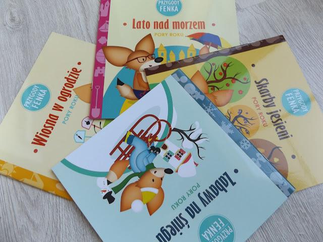Książeczki dla dzieci Przygody Fenka