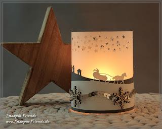 Weihnachts-Dekoration, Stampin Up