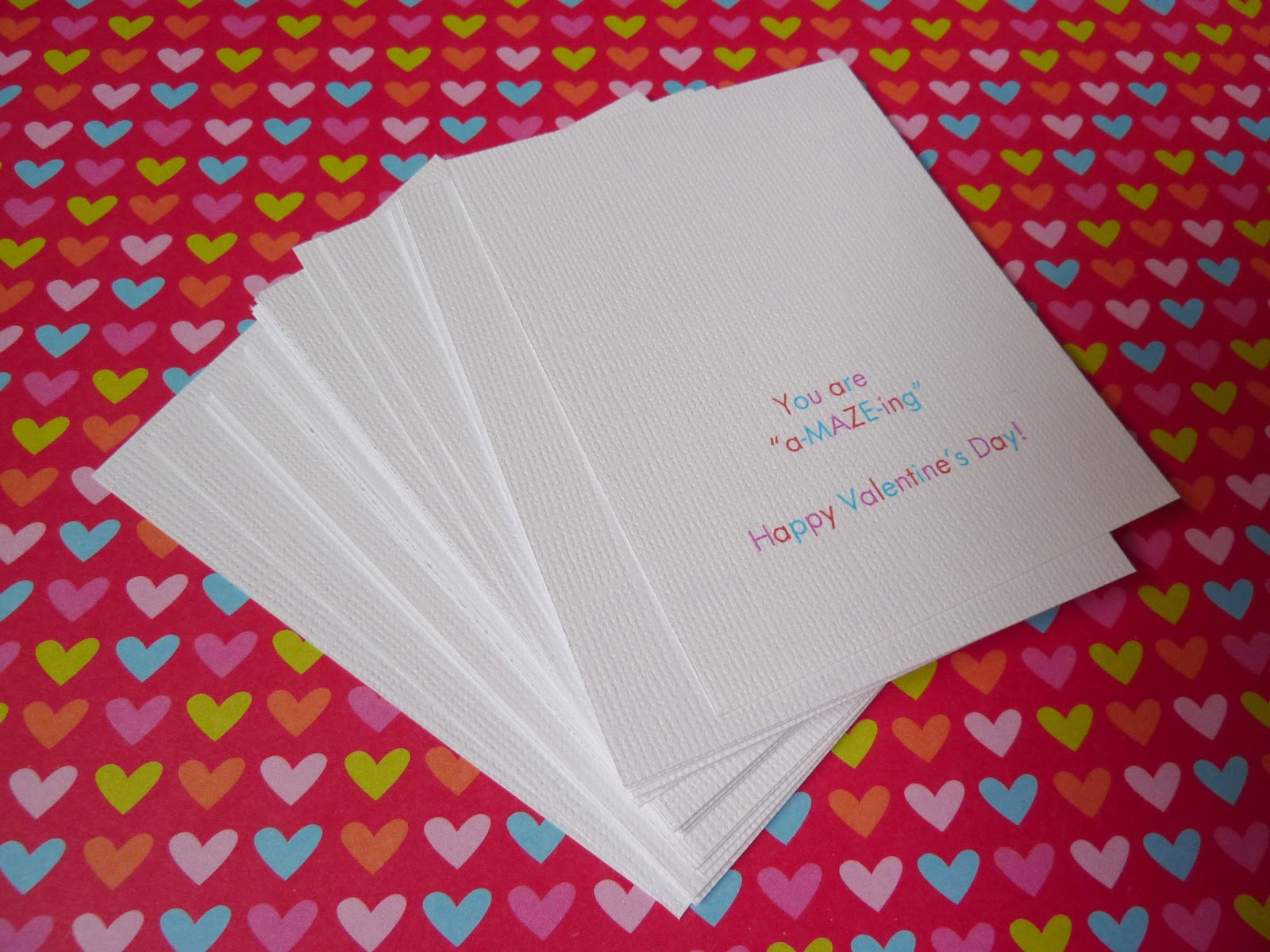 no time to be bored you are a maze ing free valentine printable