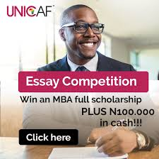 UNICAF MBA Scholarship Essay Competition