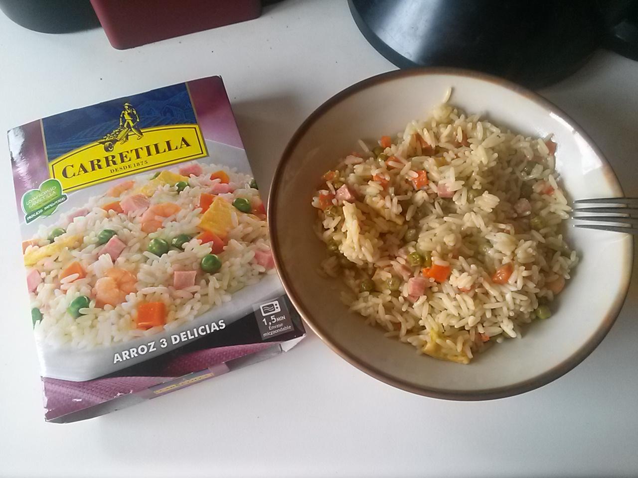 Arroz 3 delicias carretilla for Cocinar arroz 3 delicias
