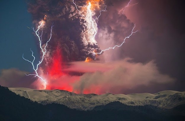 volcanic eruption in Chile2