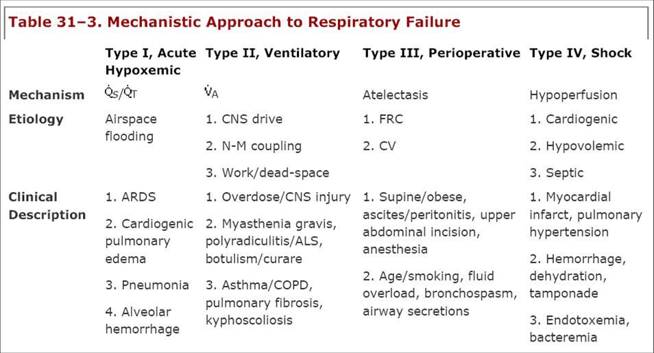 不全 分類 呼吸
