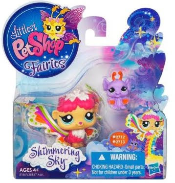 Mini Collectible Figures, Littlest Pet Shop Fairy Figures