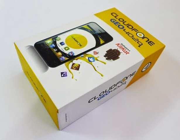 Cloudfone GEO 402q Retail Box